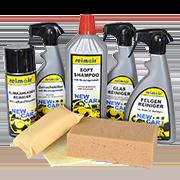 Средства для чистки и ароматизации машины